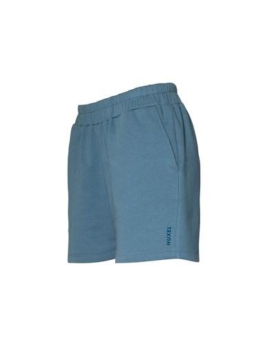 Huxel WUO001202 Basic Şort Mavi